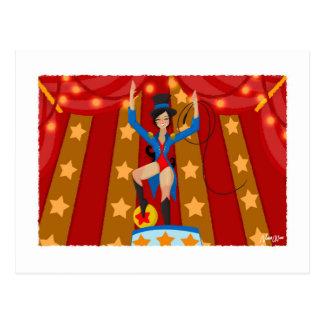 Jade cirkusdirektören vykort