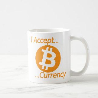 Jag accepterar Bitcoin valutatyp 02 Kaffemugg