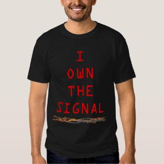 Jag äger signaleraskjortan t shirts