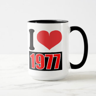 Jag älskar 1977 - muggar