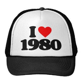 JAG ÄLSKAR 1980 KEPSAR