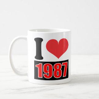 Jag älskar 1987 - muggar