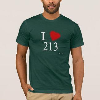 Jag älskar 213 Los Angeles Tröjor