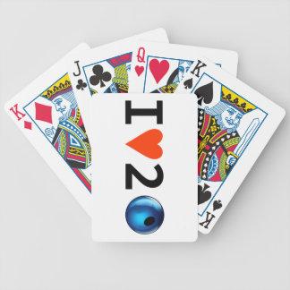 JAG ÄLSKAR 2 PRYDER MED PÄRLOR att leka kort Spelkort