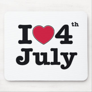 jag älskar 4th juli mitt birtday musmatta