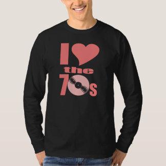 Jag älskar 70-tal tee shirt