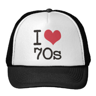 Jag älskar 70-talprodukter & designer! baseball hat