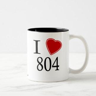 Jag älskar 804 Richmond Två-Tonad Mugg