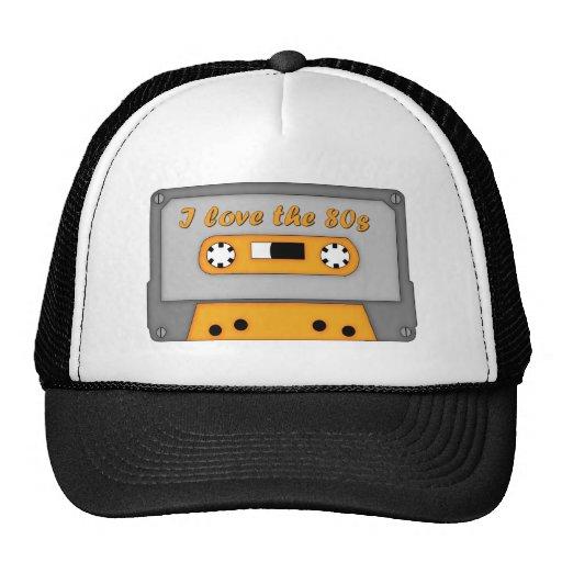 Jag älskar 80-tal (kassetten) trucker kepsar