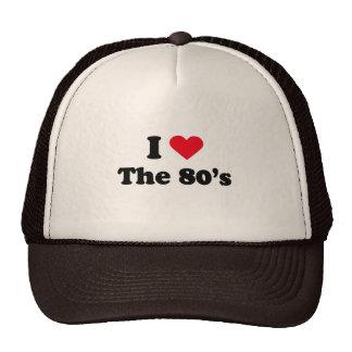 Jag älskar 80-tal baseball hat