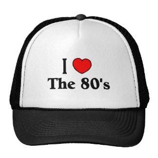 Jag älskar 80-tal trucker keps