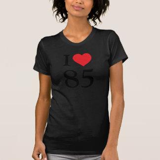 Jag älskar 85 t-shirt