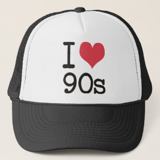 Jag älskar 90-talprodukter & designer! truckerkeps