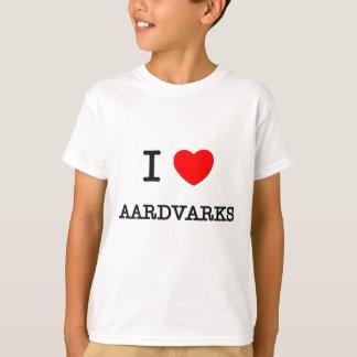 Jag älskar AARDVARKS T-shirt