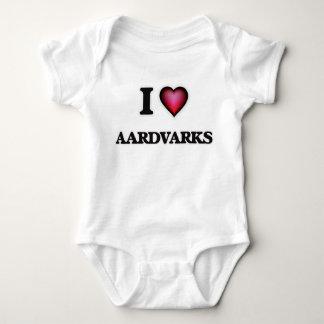Jag älskar Aardvarks Tshirts