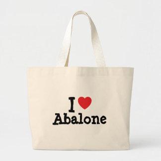 Jag älskar AbalonehjärtaT-tröja Tygkasse