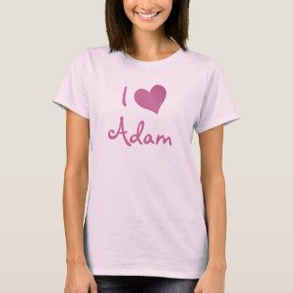 Jag älskar Adam T Shirts