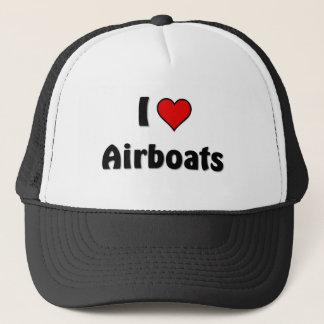Jag älskar airboats truckerkeps