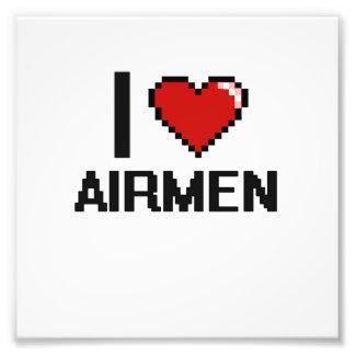 Jag älskar Airmen Fototryck