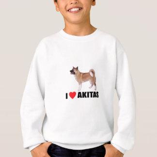 Jag älskar Akitas Tee Shirt