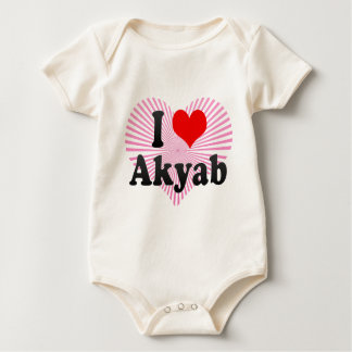 Jag älskar Akyab, Myanmar Krypdräkt