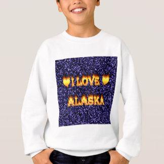 Jag älskar alaska avfyrar och flammar t-shirts