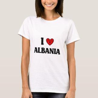 Jag älskar Albanien T-shirts