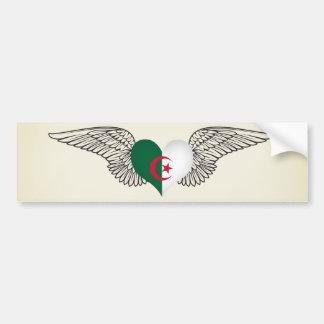 Jag älskar Algeriet - vingar Bildekal