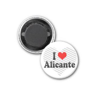 Jag älskar Alicanten, Spanien Magnet