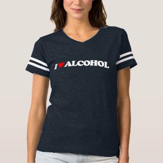 JAG ÄLSKAR ALKOHOL T-SHIRT