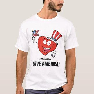 Jag älskar Amerika Tee Shirt