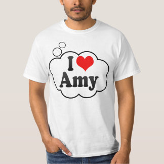 Jag älskar amyen tee shirts