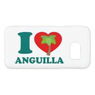 Jag älskar Anguilla Galaxy S5 Skal