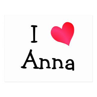 Jag älskar Anna Vykort