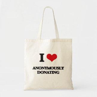 Jag älskar Anonymously att donera Kasse