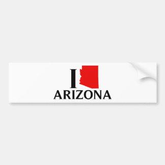 Jag älskar Arizona - jag älskar AZ Bildekal