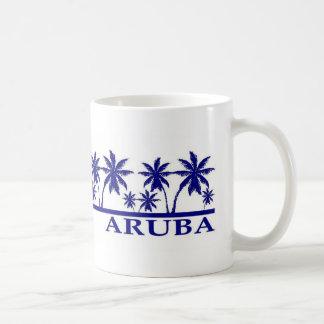 Jag älskar Aruba Vit Mugg