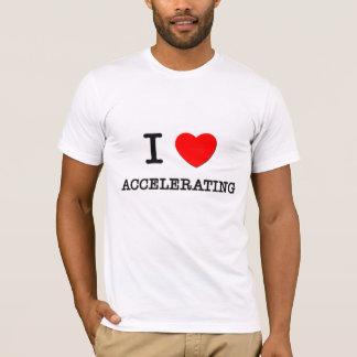 Jag älskar att accelerera tröjor