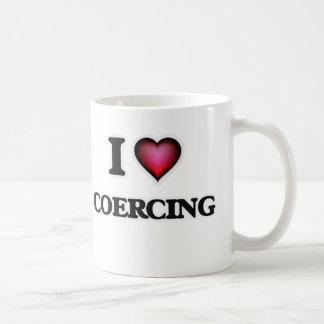 Jag älskar att betvinga kaffemugg