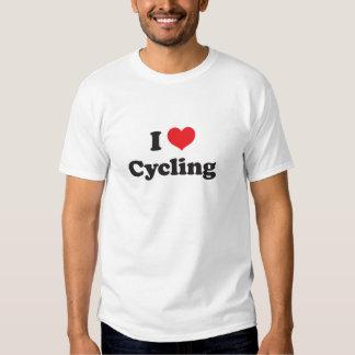 Jag älskar att cykla t shirt