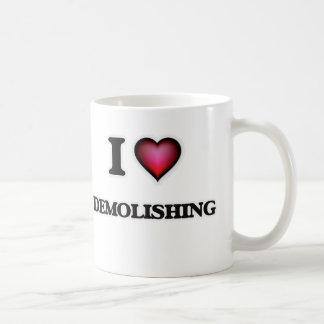 Jag älskar att demolera kaffemugg