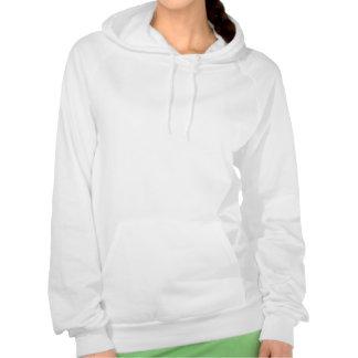 Jag älskar att förundra sig sweatshirt med luva