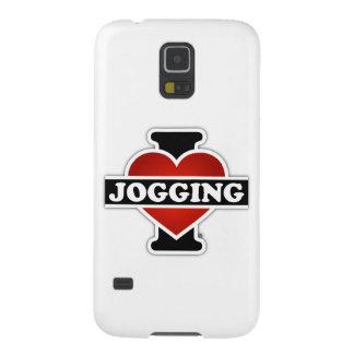 Jag älskar att jogga galaxy s5 fodral