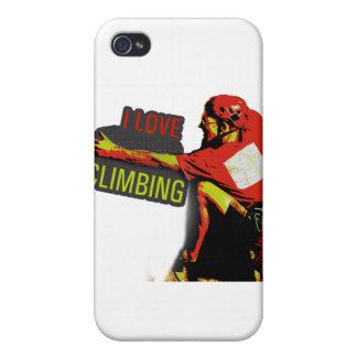 Jag älskar att klättra Gaston iPhone 4 Cases