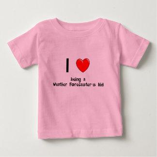 Jag älskar att vara en vädermeteorolog T-tröja för Tee