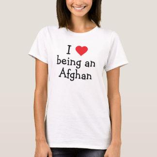 Jag älskar att vara ett afghanskt tee