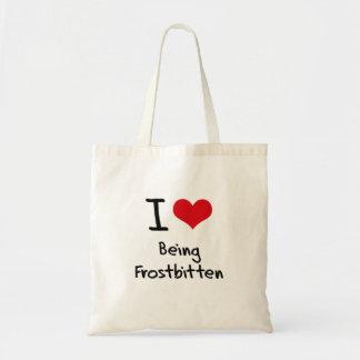 Jag älskar att vara Frostbitten Kassar