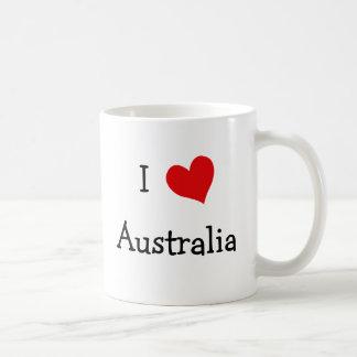 Jag älskar Australien Kaffemugg