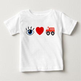Jag älskar avfyrar lastbilar! t shirt