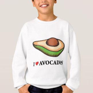 Jag älskar avokadon tröjor